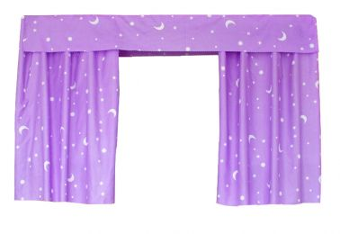 Bed Curtain Dormitory Shading Cloth Dormitory Decoration PURPLE