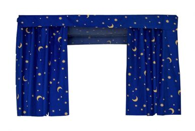 Bed Curtain Dormitory Shading Cloth Dormitory Decoration BLUE