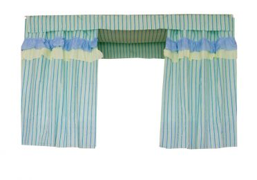 Bed Curtain Dormitory Shading Cloth Dormitory Decoration LIGHT BLUE