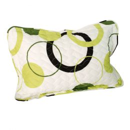 Onitiva [Green Fairy] Quilted Sham / Quilted Pillow Sham (33.8 by 24 inches)