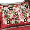 [Candy Floral] Cotton 3PC Vermicelli-Quilted Printed Quilt Set (Full/Queen Size)