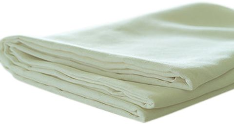 White Twin Bed Flat Sheets (2 Side hem) Case Pack 48