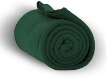 "Premium Fleece Blanket 50"""" x 60"""" - Forest Case Pack 24"
