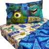 Monsters U Twin Sheet Set 3pc Scare Pennant Bed Accessories