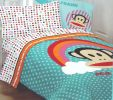 Paul Frank Rainbow Polka Dots - Monkey Twin Bed Comforter