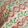 [Glitter] 3PC Cotton Vermicelli-Quilted Printed Quilt Set (Full/Queen Size)