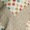 [Colorful Dots] Cotton 3PC Vermicelli-Quilted Dots Printed Quilt Set (Full/Queen Size)